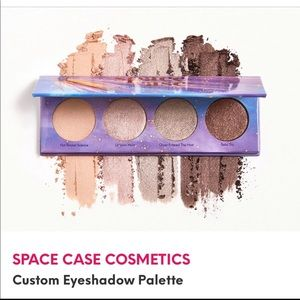 Space Case Cosmetic Quad Palette